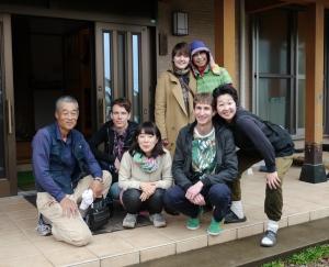 Shigeru, Tobias, Yoko, Dietmar, Yukie, me and Haruyo
