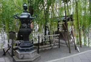 A hidden shrine near the centre of Kyoto